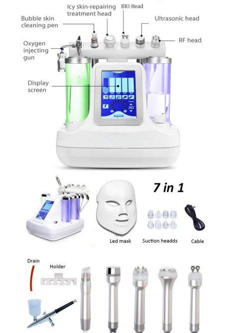 دستگاه آکوا فشیال 8 کاره